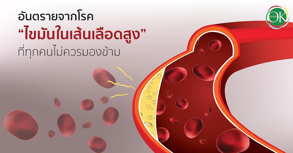 """อันตรายจากโรค """"ไขมันในเส้นเลือดสูง"""" ที่ทุกคนไม่ควรมองข้าม.."""