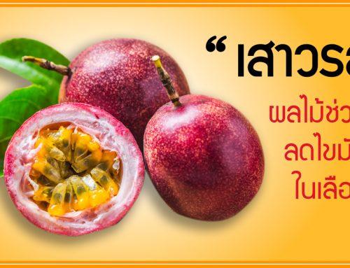 เสาวรส ผลไม้ที่มีประโยชน์นับร้อยและมีส่วนช่วยลดไขมันในเลือด!