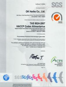 HACCP,ok herbs