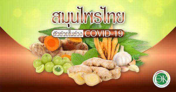 สมุนไพรไทย ตัวช่วยในช่วงในโควิด 19